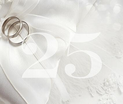 25 jaar getrouwd ringen Jubileumkaarten maken bij hipDesign 25 jaar getrouwd ringen