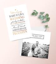 Klassieke trouwkaarten