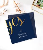 Sophisticated trouwkaarten